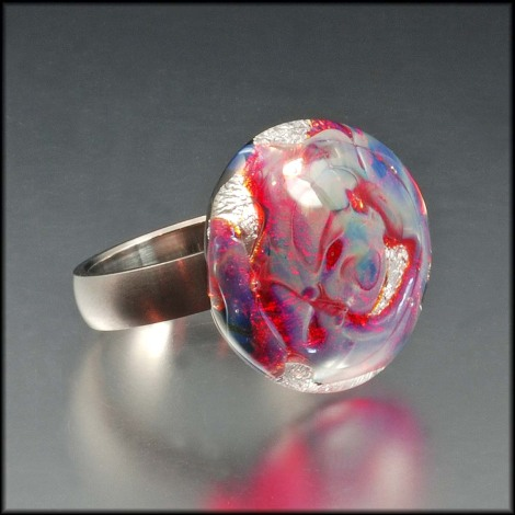 Lampwork Rings - sneak preview!